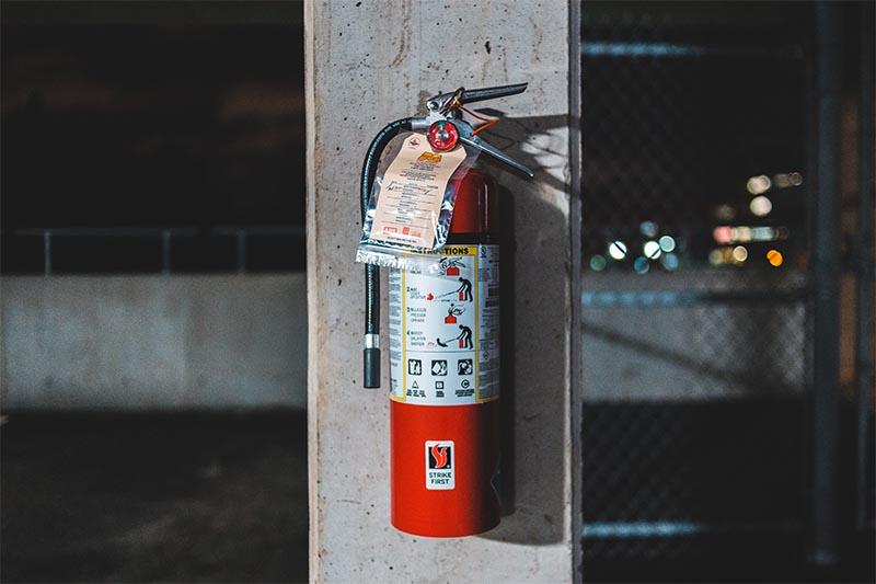 extintores en comunidad de vecinos
